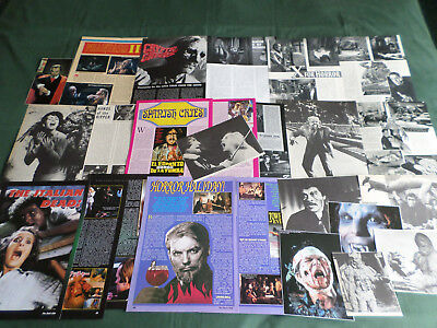 Horror Films -  Clippings /cutting Pack