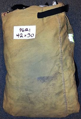 42x30 Pants Firefighter Turnout Bunker Fire Gear w/ Liner Globe Traditional P621