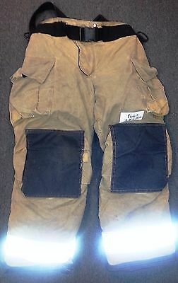 38x32 Pants With Suspenders Firefighter Turnout Bunker Globe Gxtreme 2011 P663