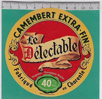 J574 Fromage Camembert Le Delectable Charente
