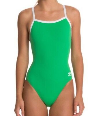 a37a7bdf96 New Speedo Women's Endurance Plus Solid Flyback Training Swimsuit 1 ...