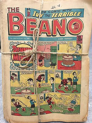 beano comics, a total of 186 dating from 1981-1996. 20p each, collection only