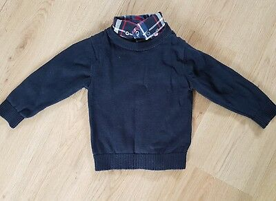 12-18 months NEXT boys collar jumper top