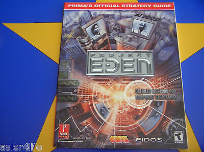 Project Eden - Strategy Guide