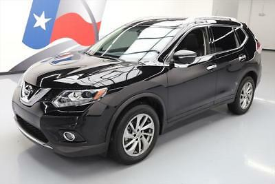 2015 Nissan Rogue  2015 NISSAN ROGUE AWD SL HTD SEATS PANO ROOF NAV 15K MI #773733 Texas Direct