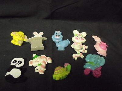 Vintage Lot of 9 Avon Pins from the 1970's, Some Glace others Plain Avon