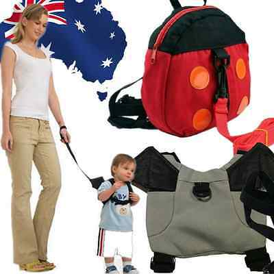 Baby Keeper Toddler Walking Safety Harness Backpack Bag Ladybird Bat SBBAG 63