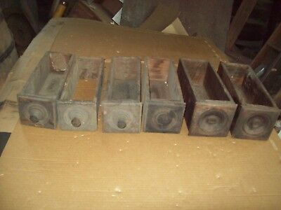6 Vintage Wooden Drawers for Singer Sewing Machine Cabinet