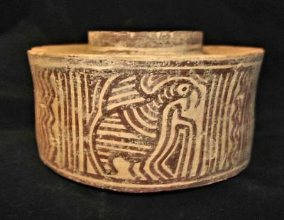 eBAY BEST!  ANCIENT PAINTED BOWL JUG!  EARLY BRONZE AGE~3000BC  ARCHAEOLOGY