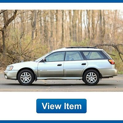 2003 Subaru Outback  2003 Subaru Outback AWD Wagon 1 Owner 67K Mi Serviced Heated Seats CARFAX