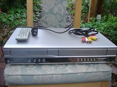 LG V181 VCR/DVD combo with remote