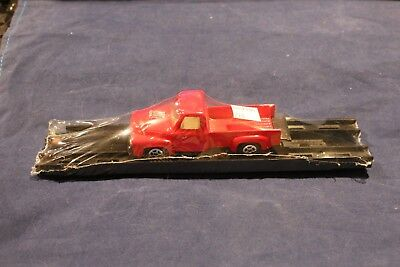 800100210 RED Truck with Rack Load