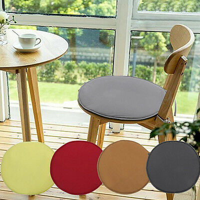 Indoor Dining Garden Patio Home Office Kitchen Round Chair Seat Pads Cushion WB