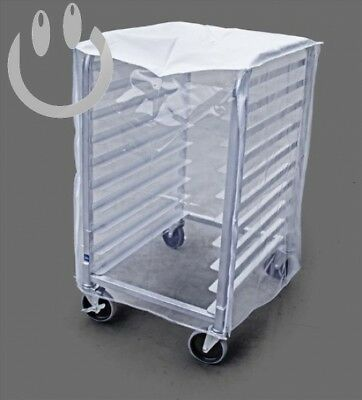 New Star Foodservice 36534 Commercial Sheet Pan Rack Cover, PVC, 10-Tier, 28...