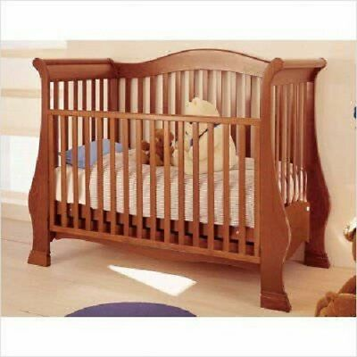 Pali Lily Crib with Drawer and Mattress Very Good