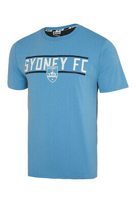 Sydney FC Sky Blues 2018 Classic T Shirt Size S-5XL! A League Soccer!