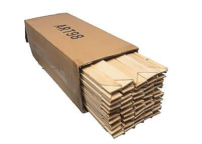 Canvas Stretcher Bars 18mm Canvas Frames Kiln Dried Pine c/w wedges Boxes of 50