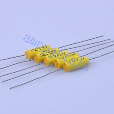 50pcs 6*15mm Tubular Poly Polyester Film Capacitor Axial 0.0068uf 683 630V