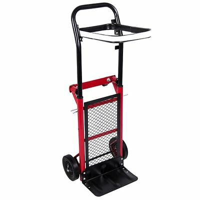 Multiple Hand Sack Trolley Industrial Heavy Duty Platform Folding Cart Truck
