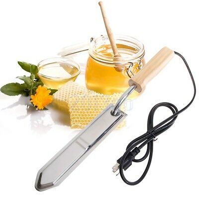 Essuie glace électrique Honey Extractor Uncapping Hot Knife Beekeeper Tool HG