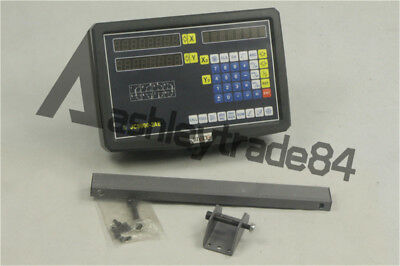 2 AXIS DRO DISPLAY DIGITAL READOUT For MILLING LATHE
