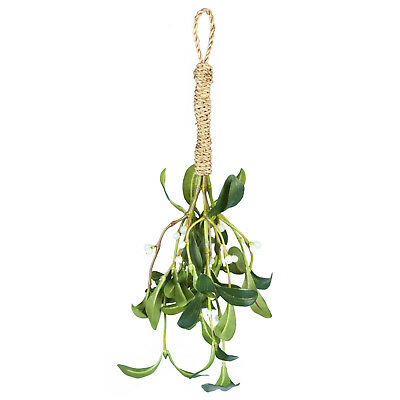 Artificial Silk Mistletoe Christmas Bunch Large 35cm 14 Inches
