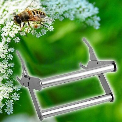 Porte cadre ruche Capture Nest Box Lifter Beekeeping Steel Spring Clamp Clip HG