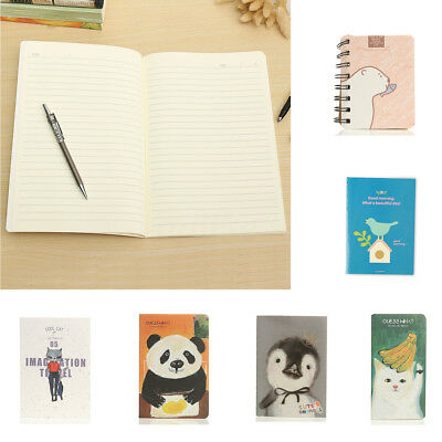 Lovely Animal Cover Paper Notebook Sketchbook Diary Travel Journal Notepad Book