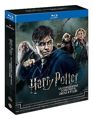 Harry Potter BOX Komplettbox 1-8 Teil 1+2+3+4+5+6+7.1+7.2 NEUWARE OVP Blu-ray