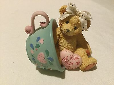 "Cherished Teddies Margaret ""A Cup Full Of Love"" 1994 (548/162)"