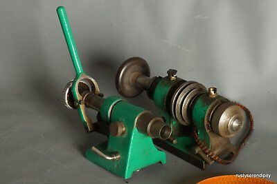 10mm  Pultra Lathe Headstock & Tailstock