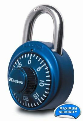Master Lock 1530DCM X-treme Combination Lock - Assorted Colors - Pack of 5