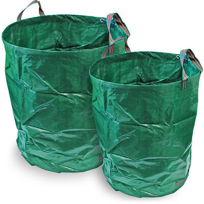 Heavy Duty Garden Waste Bag Reusable Yard Lawn Refuse Sack Leaves Grass Rubbish