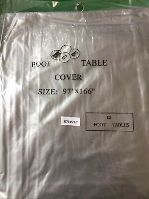 Snooker / Pool Table Cover 12'
