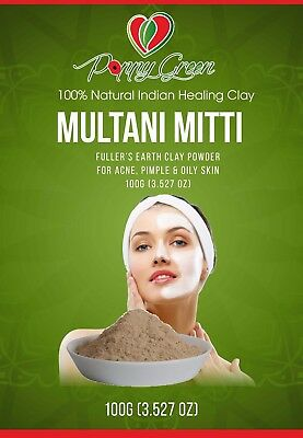Multani Mitti (fullers earth clay mask) 100% pure and Natural - 100 Grams