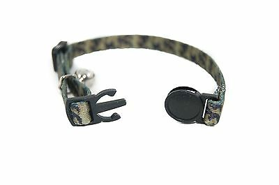 """Pet Palace """"Military Moggy"""" Adjustable Cat Safety Collar with camouflage design"""