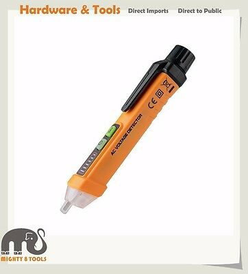 12-1000V AC Non-Contact Voltage Detector Tester 2-in-1 Low/High Test Adjustable