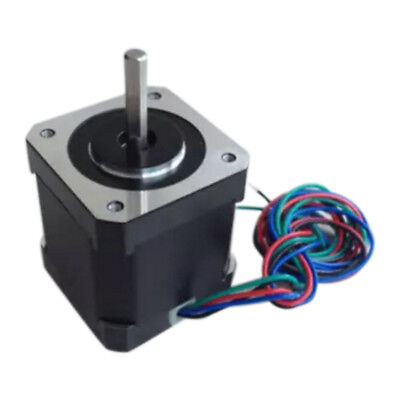 1.7A Two-phase 4-wire 17Step 42mm High Torque Hybrid Metal Stepper Motor For CNC