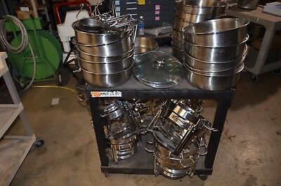 Lot of Various Chafing Dish Equipment, PSU