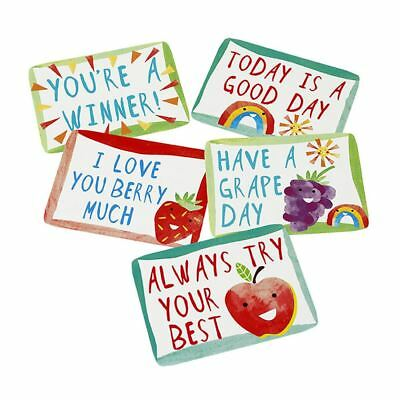Little Notes for Lunchboxes - Lunchbox Notes - Pack of 60 notes Childrens School