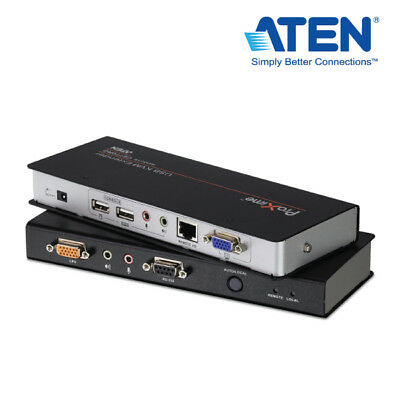 Aten USB based KVM Extender with Deskew function 1920x1200 up to 150mtrs - Mac c