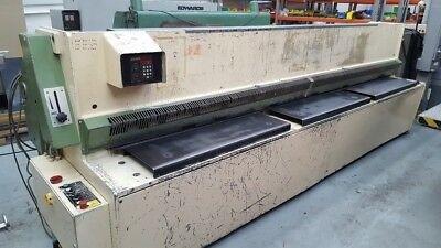 Edwards Pearson GA 4080 X 4mm hydraulic guillotine, £7.950 plus VAT(20660)
