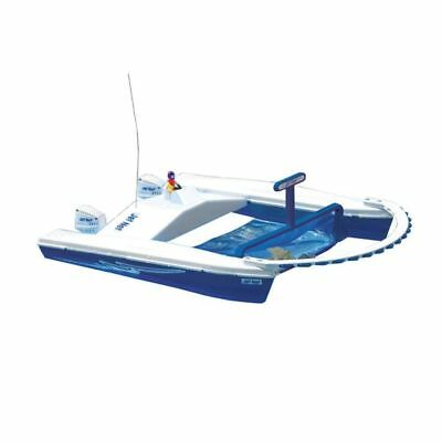 Jet Net Boat Pool Ponds Beach Skimmer Remote Control Speedy Boats Water Toys