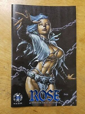Rose #6 Cover B David Finch Variant Image Comics 9/14/17 Sold Out