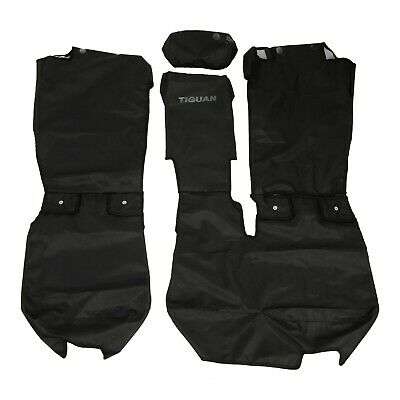 Prime 2018 2019 Vw Volkswagen Tiguan Rear Black Seat Cover For Pdpeps Interior Chair Design Pdpepsorg