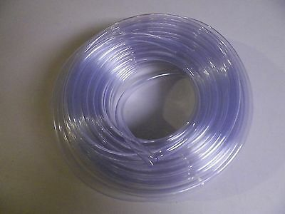 """5/8"""" I.d. Clear Vinyl Tubing, Sold """"by The Foot"""""""