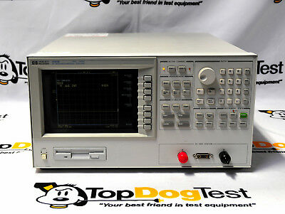 "Hp Agilent Keysight 4291B RF Impedance/material Analyzer Opt 001 "" WARRANTY """