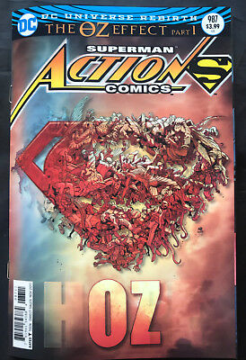 Dc Superman Action Comics #987 The Oz Effect Pt 1 Lenticular Cover
