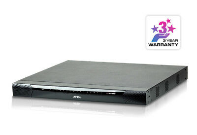 32 Port KVM Over IP, 1 local/4 remote user access. Support 1920x1200, Panel Arra