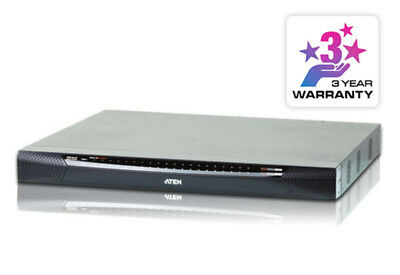 40 Port KVM Over IP, 1 local/4 remote user access. Support 1920x1200, Panel Arra